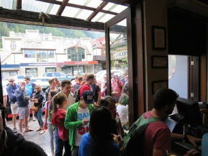 There's always a queue out of the door at Fergburger
