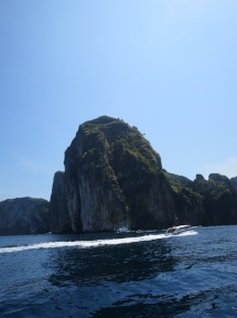View from our boat ride to Phi Phi island